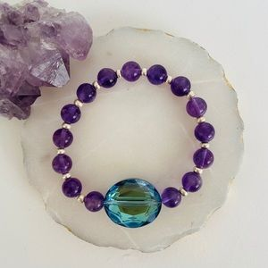 💜 Handmade *AMETHYST* intention bracelet